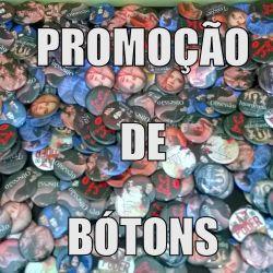 PROMOÇÃO DE BÓTONS BIENAL DO LIVRO DO RJ - 2019