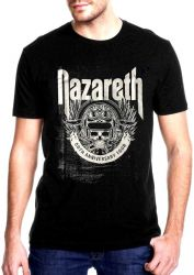 CAMISETA  NAZARETH  50th ANIVERSARY TOUR