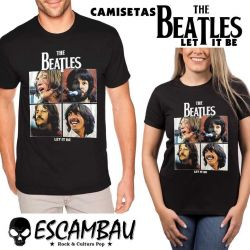 CAMISETA LET IT BE THE BEATLES
