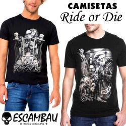 CAMISETAS RIDE OR DIE