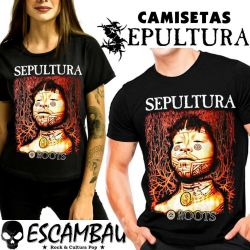 CAMISETA SEPULTURA ROOTS