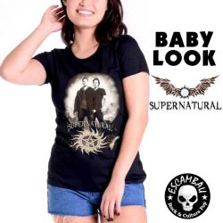 BABY LOOK SUPERNATURAL