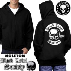 MOLETOM BLACK LABEL SOCIETY