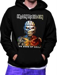 MOLETOM IRON MAIDEN THE BOOK OF SOULS