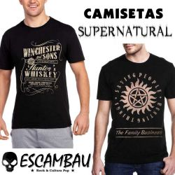 CAMISETAS SUPERNATURAL