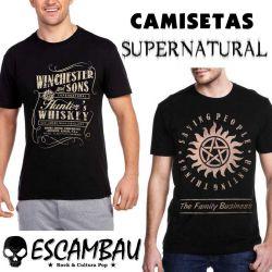 CAMISETAS SUPERNATURAL