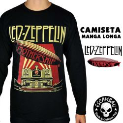 CAMISETA MANGA LONGA LED ZEPPELIN MOTHERSHIP