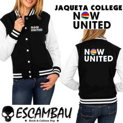 JAQUETA COLLEGE NOW UNITED