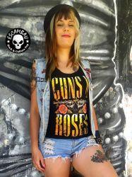 REGATA  FEMININA GUNS 'N ROSES